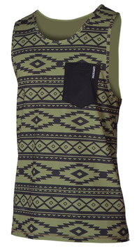Mystic Block Quickdry Tanktop Green XXL