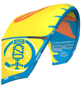 Freshkite / Duftkite F-One Bandit Style in Yellow/Orange