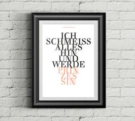"""sprüche poster """"prinzessin"""""""