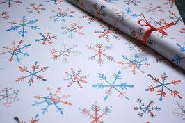 """geschenkpapier bogen """"schneeflocke"""""""