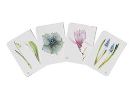 Postkarten Set-Pastell