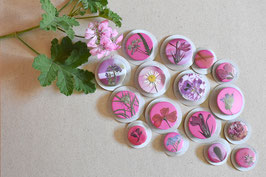 """Button - Serie """"lila-pink"""""""