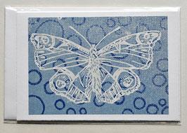 Schmetterling Holzschnitt