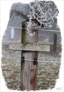 Zaun-Kreuz