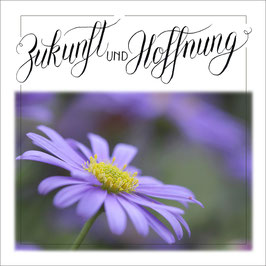 Zunkunft und Hoffnung lila