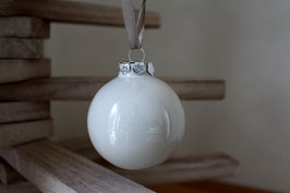 Boules de Noël - couleurs unie