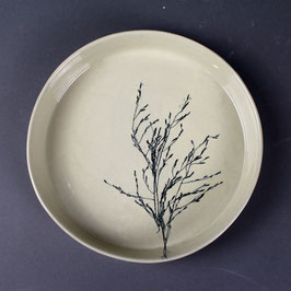 Petit plat à four - Graminées en petit bouquet