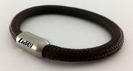 LuWi Segeltau-Armband | braun