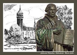 Schlosskirche ∙ Martin Luther