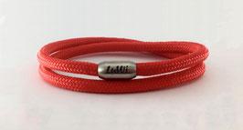 LuWi Segeltau-Armband doppelt | rot