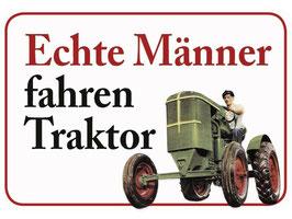 Echte Männer fahren Traktor KH035