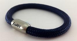 LuWi Segeltau-Armband | dunkelblau