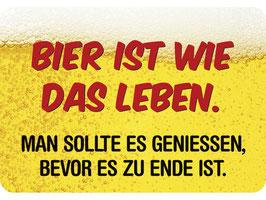 Bier ist wie das Leben... KH0127