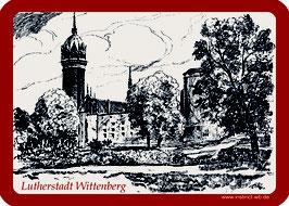 Kühlschrankmagnet Lutherstadt Wittenberg Schlosskirche