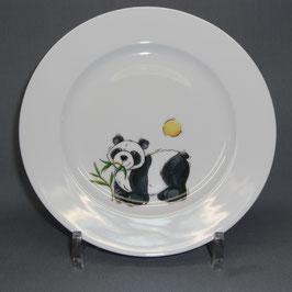 Porzellanteller mit Panda