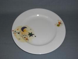 Porzellanteller Miró