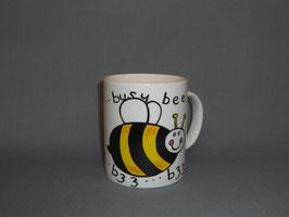 Kaffeebecher mit Lustiger Biene