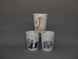 Milchbecher mit Sunny Animals