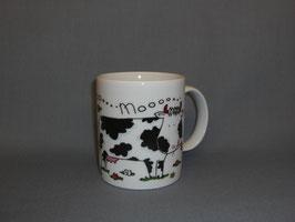 Kaffeebecher mit Kühen