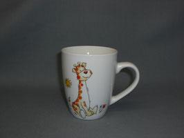 Becher Jörg mit Giraffe