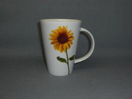 Porzellantasse Monza mit Sonnenblume