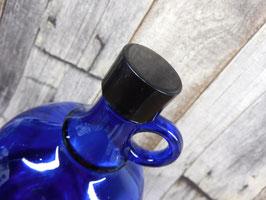 Schwarzer Kunststoffdeckel klein