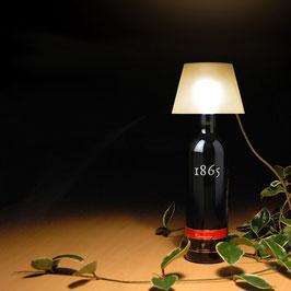 Lampe für Weinflaschen