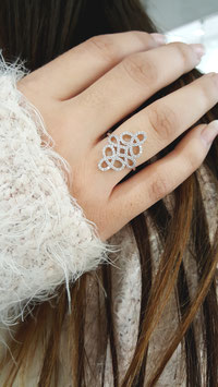 Bague arabesque