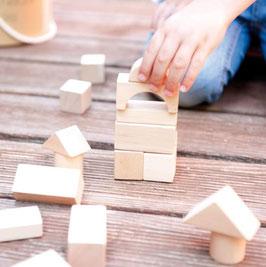 Joc de 50 blocs de fusta