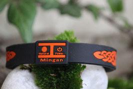 Mingan Power Θ-Ionen Armband Orange