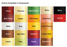 Pearsall's Gossamer Farben