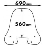 Parabrezza SH 50