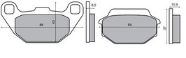 1027081B Pastiglie freno anteriore