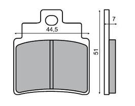 1027095D Pastiglie freno anteriore