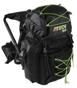 zaino Ol Tech nero/lime 40 litri con sgabello - RIF.   L 800