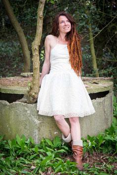 Stringed Back Dress