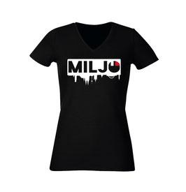 """T-Shirt """"Verkehrte Welt"""" (Damen)"""