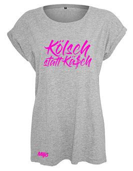 """T-Shirt """"Kölsch statt Kä$ch"""" Girlie-Edition (Damen)"""