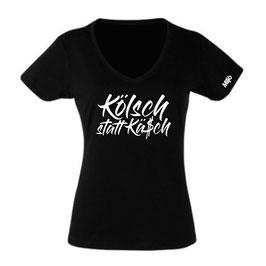 """T-Shirt """"Kölsch statt Kä$ch"""" (Damen)"""