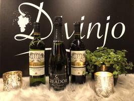 Een Cava met een witte en rode Franse wijn met karakter