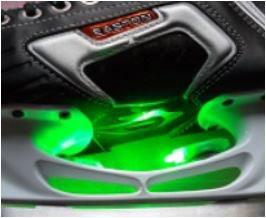 Ice light grün pro Stück NEU einzeln verpackt mit Entfettungstüechli