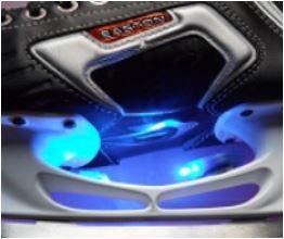 Ice light blau pro Stück einzeln verpackt mit Entfettungstüechli