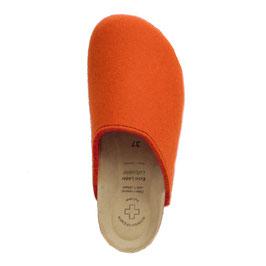 Hausschuh orange