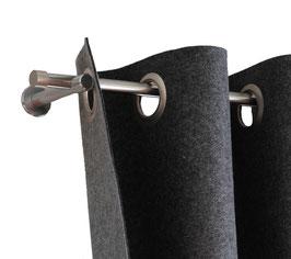 Vorhang aus 3 mm starkem Wollfilz