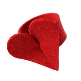Serviettenring Herz
