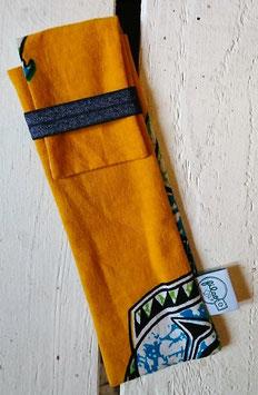 Pochette à brosse à dents -  Wax jaune
