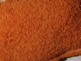 Grattoir lavable - jute orange