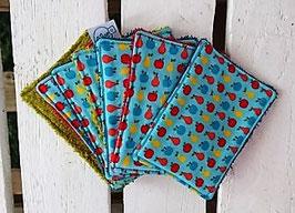 Lingettes Bébé - Lot de 7 - Fruits