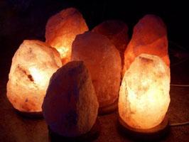 Lámpara de Sal Natural del Himalaya 20 cm