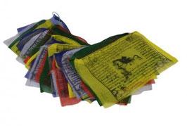 Banderas tibetanas de oración.  (20 banderas)